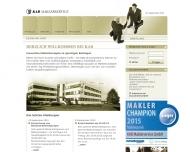 Bild Webseite Assekuranz Kropp & Braukmüller Erftstadt