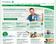 Bild Webseite Hanse Merkur Versicherungsgruppe Geschäftsstelle Rosemarie Schulz Berlin