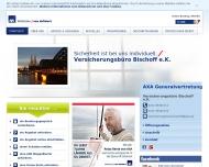 Bild Webseite Bischoff Heinrich-Theodor Versicherungsbüro Köln