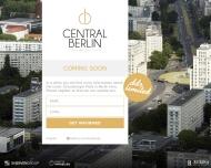 Bild Webseite CENTRAL Krankenversicherung Berlin
