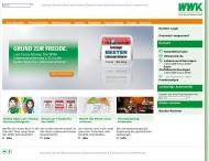 Website WWK Allgemeine Versicherung Aktiengesellschaft