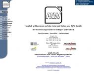 Bild Webseite AVW Versicherungsmakler Berlin
