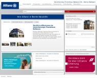 Website Ballwanz Roman Versicherungsagentur