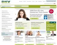 Private Krankenversicherung PKV und Zusatzversicherung DKV