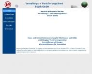 Bild Webseite Verwaltung  + Versicherungsdienst Busch Berlin