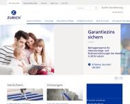 Bild Webseite Wohlfarth Leonard Versich.Büro München