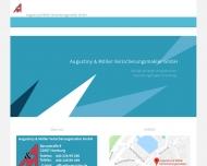 Bild Webseite Augustiny & Möller Versicherungsmakler Hamburg