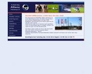Bild Webseite Sportverein Weiß-Blau Allianz Hamburg Hamburg