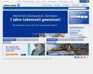 Bild Webseite Wichmann Norbert Versicherungshauptagentur Berlin