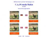 Bild Webseite C.A. & W. von der Meden ( Hamburg