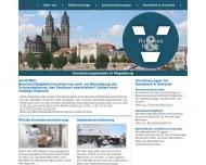 Bild Webseite Hoffmann u. Partner Versicherungsagentur Magdeburg