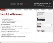 Bild Webseite Ihr Versicherungsmakler Hans Uwe Tessmer e.Kfm. Magdeburg