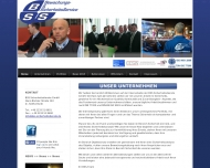 Bild Webseite BSS-Sicherheitsdienste Köln