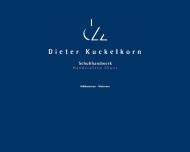 Bild Webseite Kuckelkorn Anneliese Herrenmoden Schuhhandwerk Aachen