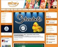 Bild Webseite M. B. W. Vertriebsgesellschaft Wanderup