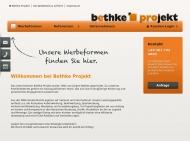 Bild Bethke-Projekt Werbung und Gestaltung