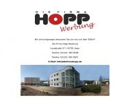 Bild Webseite Die Firma - Werbung Wuppertal