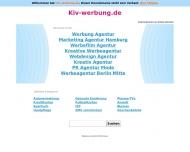 Website KIV Werbung Agentur für DTP u. visuelle Kommunikation