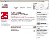 Bild Webseite Dr. Haffa & Partner München