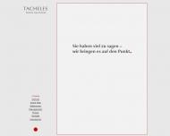 Website Tacheles Public Relations