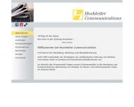 Bild Webseite Hochleiter Martin T. W. Werbeges. München