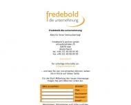 Bild Webseite Fredebold & Partner Köln