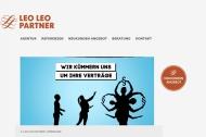 Bild Webseite LEO LEO PARTNER Agentur für Werbung Testen Sie uns unverbindlich! Köln