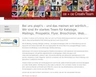 Bild Webseite ce + ce Creativmarketing Ann-Christelle Mandl München