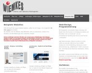 Website Wiemkes Werbeagentur