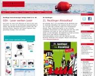 Bild Webseite RÖDER + FRIENDS Röder Werbeagentur Reutlingen