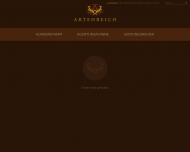 Bild Webseite ARTENREICH Werbeagentur Köln