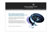 Website Böttger & Böttger, Jens Böttger Grafikdesign