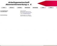 Bild Arbeitsgemeinschaft Abonnentenwerbung e.V.