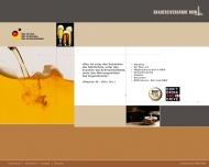 Bild Webseite Arbeitgeberverband Rhein.-Westf. Brauereien u. Mälzereien Düsseldorf