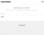Bild Webseite FederhenSchneider Werbeagentur Köln