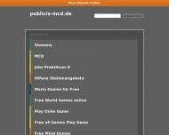 Bild Webseite Publicis MCD Werbeagentur München