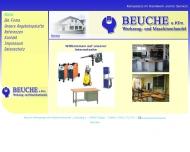 Website Beuche Werkzeug u. Maschinenfachhandel