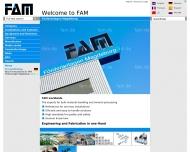 Bild Webseite Magdeburger Förderanlagen und Baumaschinen Magdeburg