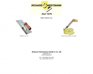 Website Richard Christmann