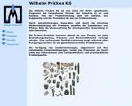 Bild Pricken, Wilhelm Industriediamanten-Diamantenwerkzeuge-Diamantenschleiferei