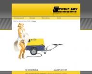 Bild Gay GmbH, Peter Baumaschinen