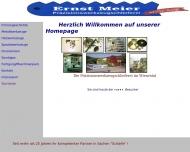 Bild Webseite Meier Ernst Präzisionswerkzeugschleiferei Schopfheim