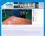 Website Manfred Thiel