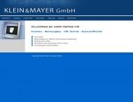 Bild Webseite Klein und Mayer Formen- und Werkzeugbau Durmersheim