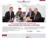Bild Webseite Fehlner Hans Dipl.-Finanzwirt(FH) München