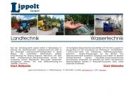 Lippolt GmbH Weidenberg Landmaschinen Landtechnik Werkstatt Service Wassertechnik Kommunale Wasserve...