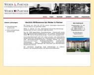 Bild Webseite Weber & Partner Gesellschaft München