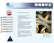 Bild Webseite  Regen