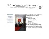 Bild Webseite EC Aktiengesellschaft Wirtschaftsprüfungsgesellschaft München
