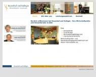 Bild Webseite Keuenhof und Kollegin Wirtschaftsprüfer - Steuerberater Köln